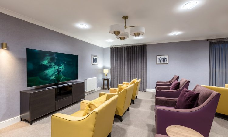 Westbrook Care Home TV room